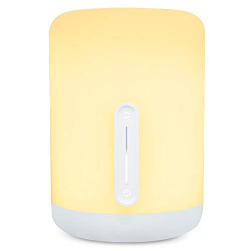 LIURUO smart LED nachtlicht 400lm einstellbare helligkeit nachtlicht augen schlafzimmer nachttischlampe lampe dekoration nachtlicht