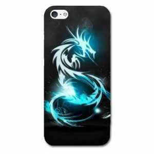 case-iphone-5-5s-fantastique-dragon-bleu