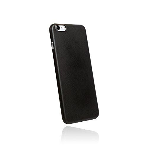 hardwrk ultra-slim Case für Apple iPhone 6 Plus und 6s Plus - schwarz - ultradünne Schutzhülle Handyhülle Cover Hülle in solid black (Back Iphone Hard)