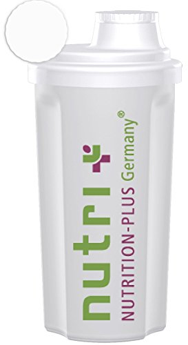 Compact Shaker Fitness (transparent) 500ml 1er Pack - BPA-frei - Nutri-Plus (Compact Mikrowelle)
