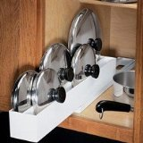 Lid Maid Pot/Pan Lid Organizer by Dial