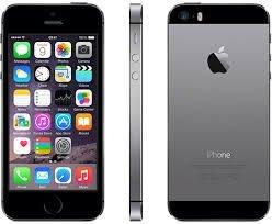 iPhone 5S 16 GB de Apple  libre  grado A  negro
