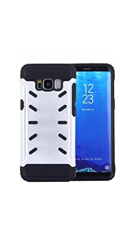 ELECTROPRIME for Samsung Galaxy S8 Shock-Resistant Iron Man Aluminum Alloy + TPU Combination Case (Silver)