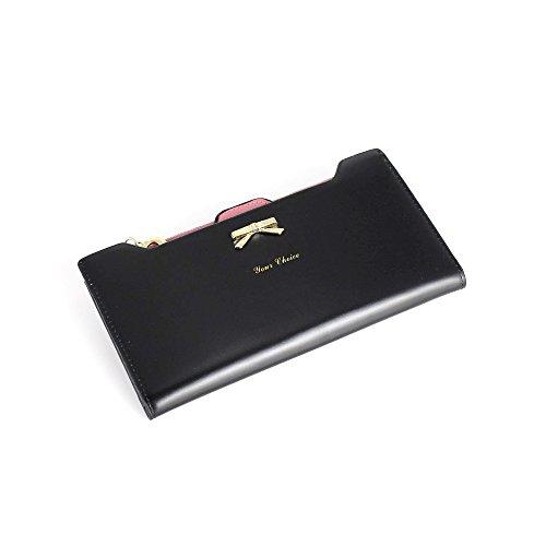 Pochette per portafoglio con carta di credito Bifold Multi Card Nero