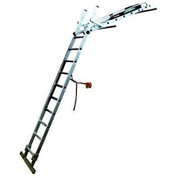 Heavy Duty Conservatory Cleaning Ladder Provides Stable