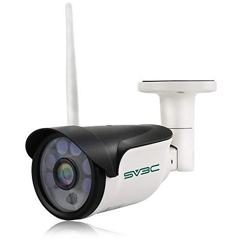 Einziges Cat5-kabel (SV3C 960P Überwachungskamera Aussen Wlan/IP66 WLAN IP Kamera mit Deutscher Anleitung, Bewegungserkennung,15m Nachtsichtfunktion,TF Karten und Kompatibel mit Smartphones,Tablets und Windows PC)