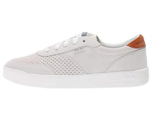 Keds Damen Schuhe Low Sneaker Chucks Sport Dicke Gummi Sohle Mode Fashion Kult, Farbe:Weiß, Größe:EUR 38