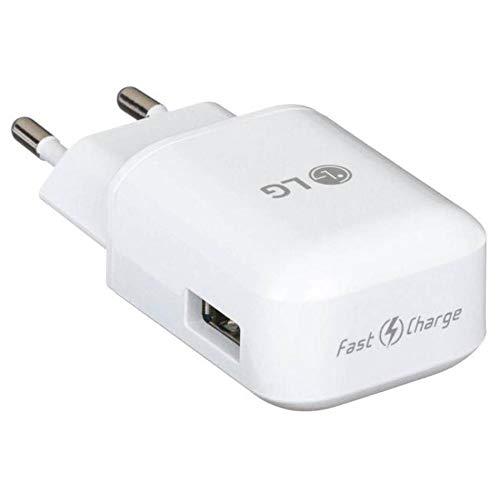 OEM LG LG MCS-H06ED / MCS-H06ER Ladegerät USB/Fast Charge Adapter 9 V, 1,8 A weiß für LG G6 ... Oem Lg Micro-usb