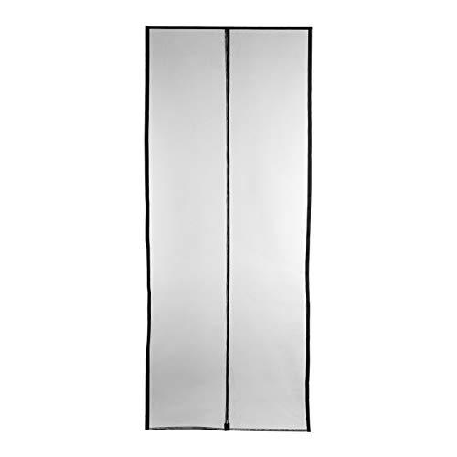 Fliegengitter Insektenschutz Magnetvorhang schwarz 95x235 cm