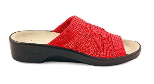 Arcopedico Womens Splash Red Nylon Sandals 38 EU