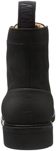 G-STAR RAW Myrow Leather, Bottes Rangers Homme Noir (black 990)