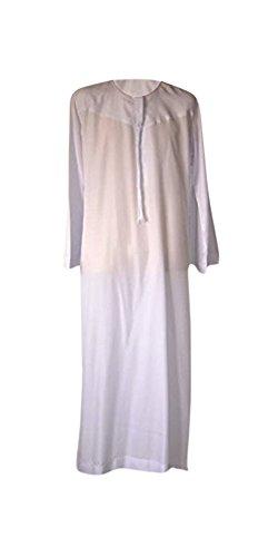 Desert Dress - Tunique Marocaine Homme Thobe Emirats Arabes Oman DishDasha  Désert Arabe Afghane Saoudienne - 6a2c5b9a921