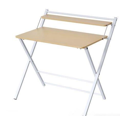 InnoFur Meleti Folding Study Desk/Foldable Office Table/Adjustable Laptop Desk Table...