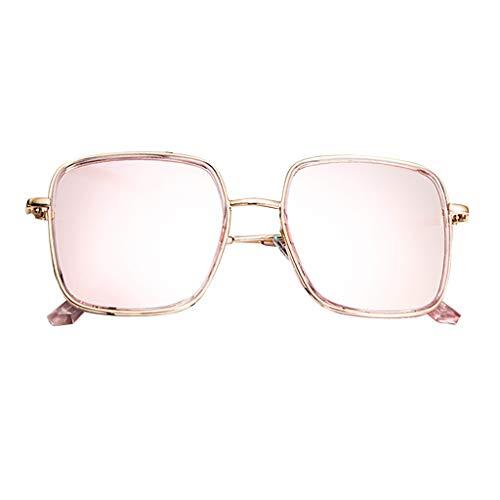 Sonnenbrille Unisex Brillenträger Damen UV-Schutz Sonnenbrillen Polarisierte Übergröße Unregelmäßiges Rechteck Freizeit und Reise Brille Mode Trendige Vintage Eyewear Glasse