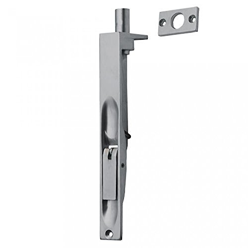 Sehr hochwertiger, strapazierfähiger Einlassriegel - Türriegel für französische und doppelte Türen - französischer Türriegel und doppelter Türriegel, 100, 150, 200 mm, Kupfer, Chrom, Satin, silber