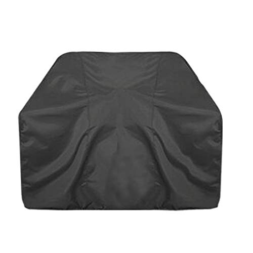 TEN-G Waterproof Dustproof BBQ Covers Rain Snow Breathable Protector Barbecue Grill Cover,Black,Size-M (XL-170x61x117cm) Rain Protector