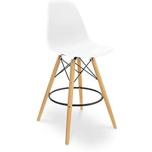 dsw barhocker charles eames stil polypropylen. Black Bedroom Furniture Sets. Home Design Ideas