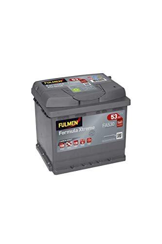 Fulmen - Batterie voiture FA530 12V 53Ah 540A - Batterie(s)