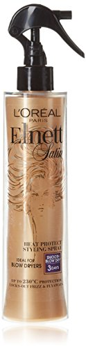L'Oreal Elnett raso Heat Protect Styling spray para el cabello, 170 ml