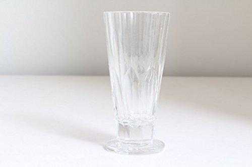 vintage13.de Edles Original Antikes Glas Trinkglas Kristall Geschliffen Biedermeier Fußbecher