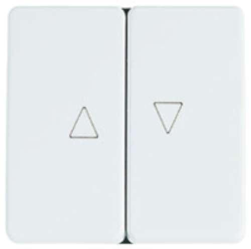 Niessen stylo - Interruptor persiana visor serie stylo blanco marfil