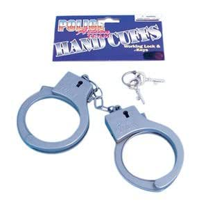 Handcuffs with Key Plastic