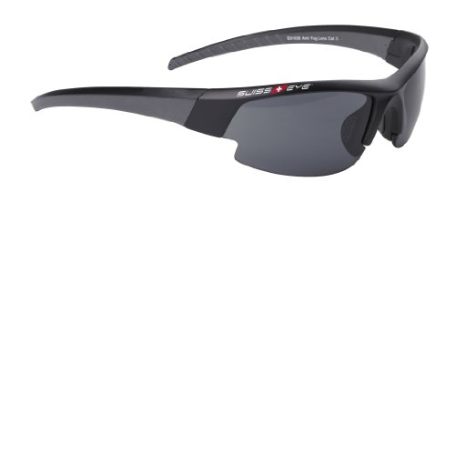 Swiss Eye Sportbrille Gardosa Evolution S, Black Matt/Gun Metal, One Size, 12139