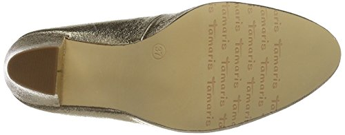 Tamaris 22416, Scarpe con Tacco Donna Multicolore (LT.GOLD STRUC. 932)