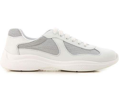 Prada ,  Herren Niedrige Sneaker, Weiß - Bianco Argento - Größe: 44 EU