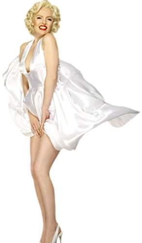 Halloweenia - Damen Marilyn Monroe Kostüm 50er Jahre Style, M, (Marilyn Kostüm Schuhe Monroe)