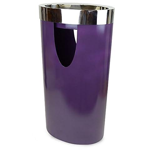 Fleet – Unique Purple Metal Ash Tray Waste bin -