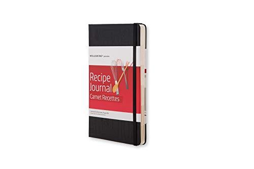 Moleskine Passion-Journal Rezepte Large, Hardcover mit Prägung schwarz (Dinge Zu Tun, Journal)