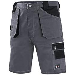 CXS Short de Travail pour Homme Professional - Shorts Très Durables Pantalon de Travail Pantalon de Jardin Garage Short de Jardin (50)
