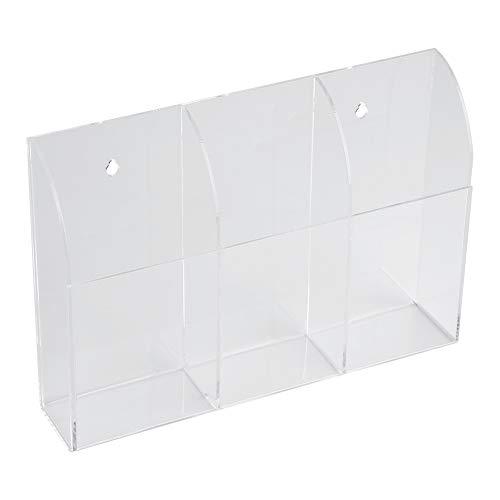 Rosvola Wandhalterung aufbewahrungsbox, klimaanlage Fernbedienung Halter Fall aufbewahrungsbox(3 case) - Wicker Regal Korb