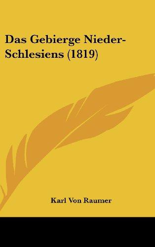 Das Gebierge Nieder-Schlesiens (1819)