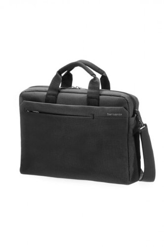 "Samsonite Network 2 Laptop Bag 13""-14.1"" 9.5 Liters Raven (Charcoal) 51883"