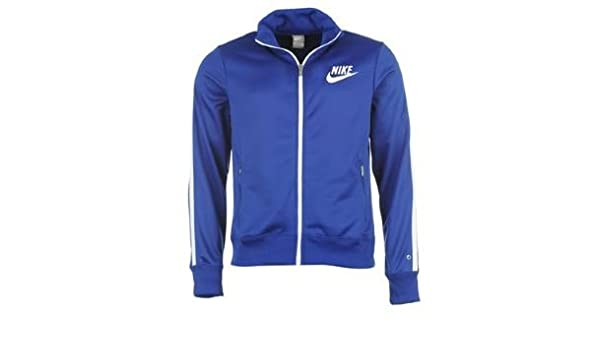 Nike 510131 429 HBR Track Veste de Sport pour Homme Bleu Roi