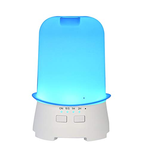 Xiayu Sombrero Aroma Humidificador Mini Purificador De Aire Dispensador De Perfume Colorido Noche Luz Navidad Decoración Blanco