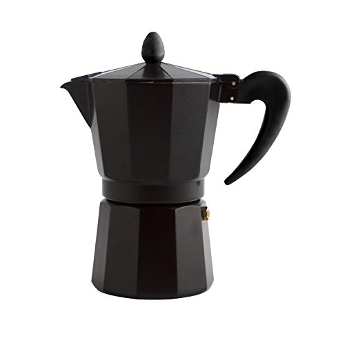 Quid Black Coffee - Cafetière Induction 6 Tasses
