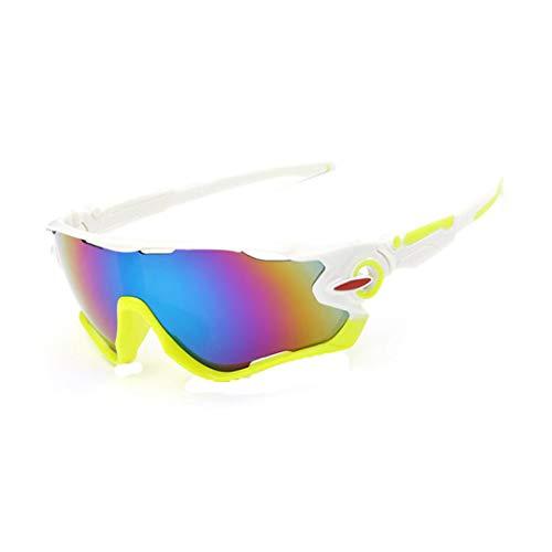 zolimx Las Nuevas Gafas de Sol de la Lente UV400 Que Completan un Ciclo Los Vidrios de Ciclo de la Bici de Montaña de Los Deportes