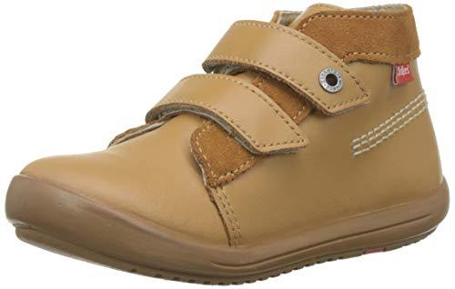 Kickers Kinew, Botas Unisex bebé, Marrón Camel 114, 18 EU