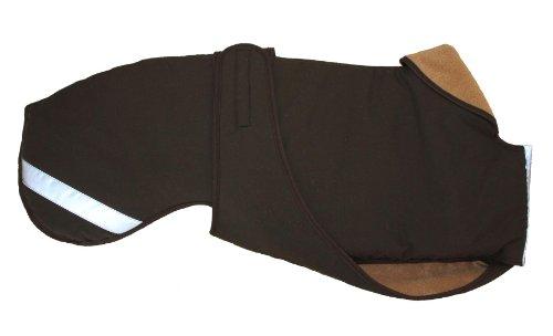 Cosipet Greyhound Extreme Hundejacke 61 cm braun - Mantel Windhund