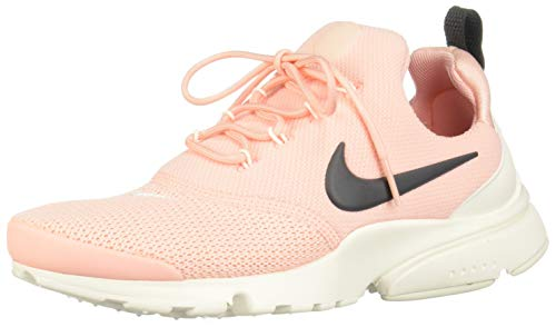 Nike Damen Presto Fly Sneakers, Mehrfarbig (Storm Pink/Anthracite/Summit White 001), 41 EU