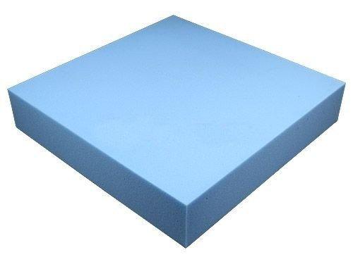 Schaumstoffplatte 50x50cm Schaumstoff Kissen Schaumstoffpolster - extra formstabil - 10cm dick -