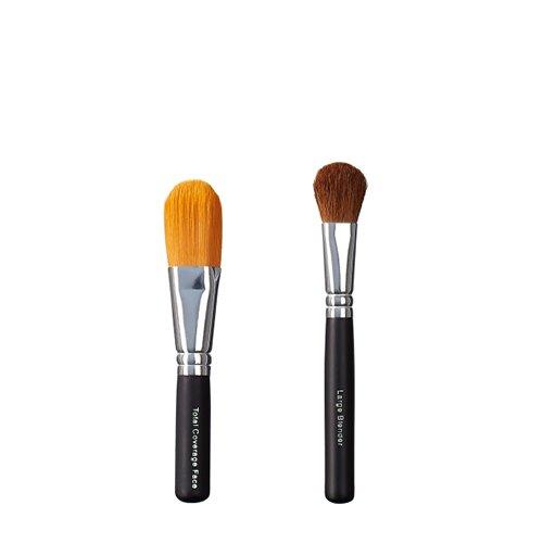 ON & OFF Cobertura total Face Blender Brush Duo y grande, 1er Pack (1 x 0,25 L)