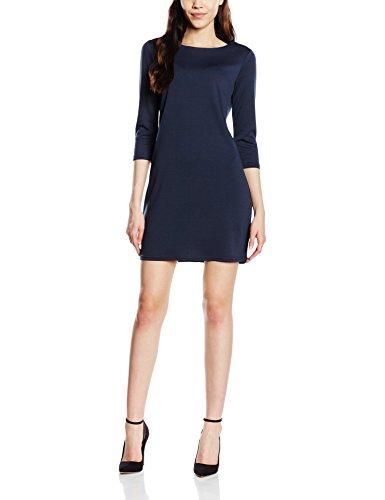 VILA CLOTHES Damen Kleid Vitinny New Dress Blau (Total Eclipse)