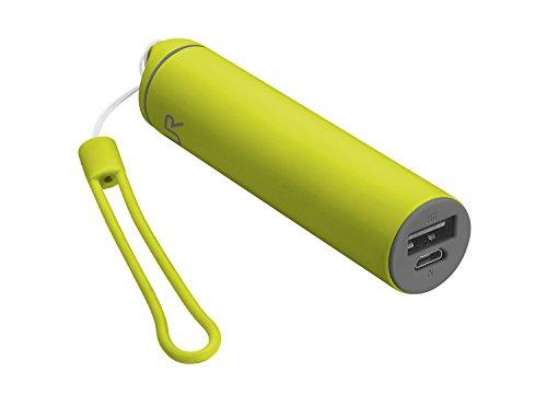 Trust Urban Stilo 2600 Powerbank (geeignet für Tablet/Smartphone) lime