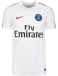 Nike PSG M NK Dry SS Sqd–Paris Saint Germain Jersey for Men, Men, Psg M Nk Dry Ss Sqd