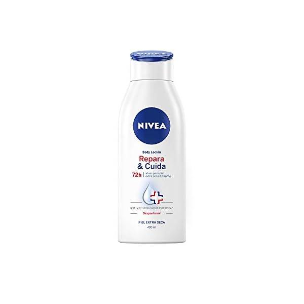 Nivea – Body Milk Repara & Cuida – Piel Extra Seca – 400 ml
