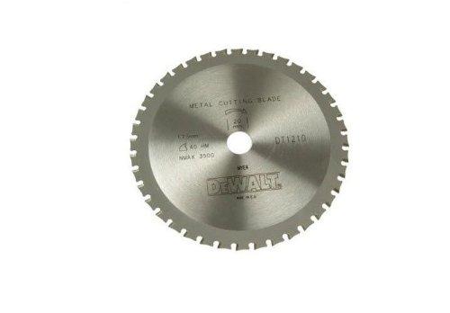 DeWalt DT1212-QZ-Lame de scie circulaire sans fil 140 x 20 mm 30D MTCG plage